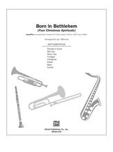 Born in Bethlehem (Four Christmas Spirituals) - Choral Pax