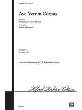 Ave Verum Corpus - Choral