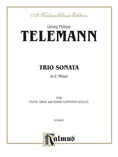 Telemann: Trio Sonata in E Minor - Mixed Ensembles
