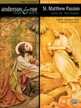 St. Matthew Passion Suite for Two Pianos - Piano Duo (2 Pianos, 4 Hands) - Piano Duets & Four Hands