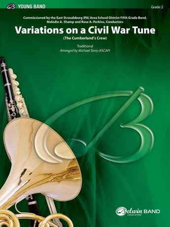 Variations on a Civil War Tune - Concert Band