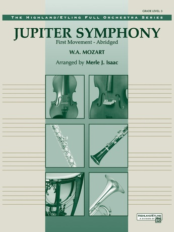 Jupiter Symphony, 1st Movement - Full Orchestra