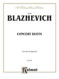 Blazhevich: Concert Duets - Brass