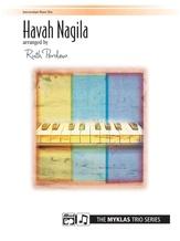 Havah Nagila - Piano Trio (1 Piano, 6 Hands) - Piano