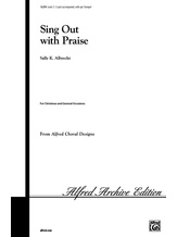 Sing Out with Praise - Choral