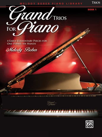 Grand Trios for Piano, Book 1: 4 Early Elementary Pieces for One Piano, Six Hands - Piano