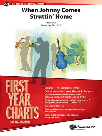 When Johnny Comes Struttin' Home - Jazz Ensemble