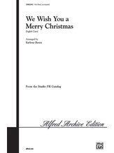 We Wish You a Merry Christmas - Choral