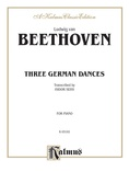 Beethoven: Three German Dances - Piano