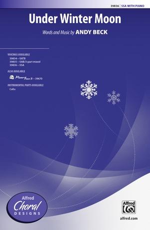 Under Winter Moon - Choral
