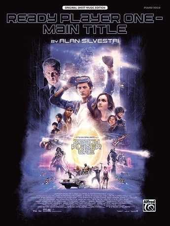 Ready Player One - Main Title - Piano/Vocal/Guitar