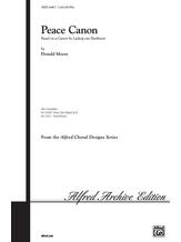 Peace Canon - Choral