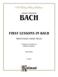 Bach: First Lessons in Bach (Ed. Carroll) - Piano