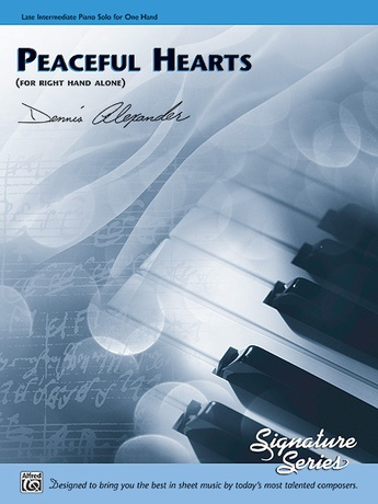 Peaceful Hearts (for right hand alone) - Piano Solo - Piano