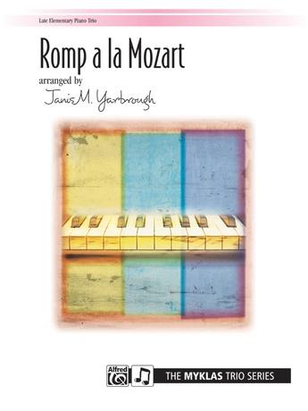 Romp a la Mozart - Piano Trio (1 Piano, 6 Hands) - Piano