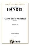 Handel: Italian Duets and Trios, Volume I (Italian) - Voice