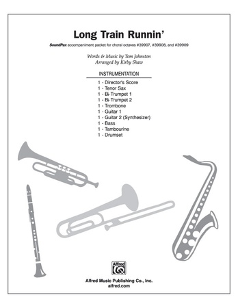 Long Train Runnin Score The Doobie Brothers Choral Pax Sheet Music