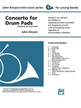 Concerto for Drum Pads - Concert Band