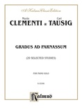 Clementi: Gradus ad Parnassum (Twenty-nine Selected Studies) - Piano