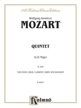 Mozart: Quintet, in E flat Major (K. 454) - Mixed Ensembles