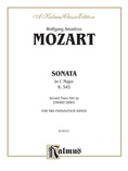 Mozart: Sonata in C Major, K. 545 (Arr. Edvard Grieg) - Piano Duets & Four Hands