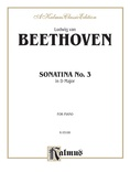 Beethoven: Sonata No. 3 in D Major - Piano