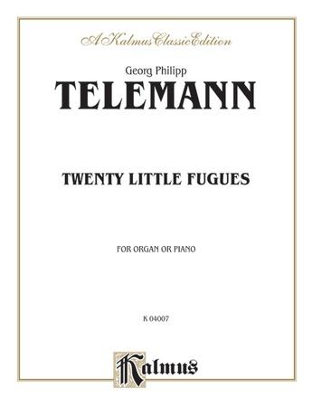 Telemann: Twenty Little Fugues - Organ