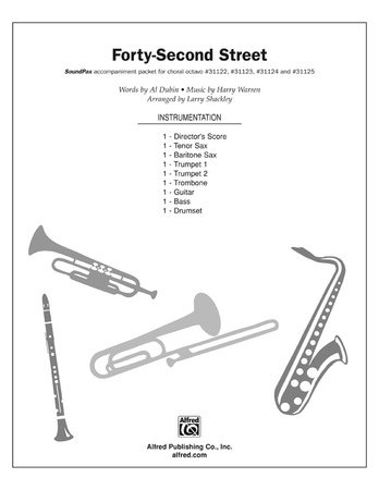 Forty-Second Street (from the musical Forty-Second Street) - Choral Pax