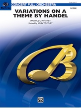 Variations on a Theme by Handel - Full Orchestra