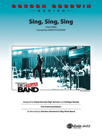 Sing Sing Sing Guitar Chords Louis Prima Jazz Ensemble Sheet Music