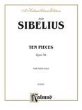 Sibelius: Ten Pieces, Op. 58 - Piano