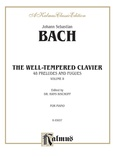 Bach: The Well-Tempered Clavier (Volume II) (Ed. Hans Bischoff) - Piano
