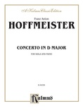 Hoffmeister: Viola Concerto in D Major - String Instruments