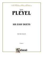 Pleyel: Six Easy Duets, Op. 23 - String Ensemble