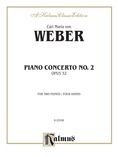 Weber: Piano Concerto No. 2 - Piano Duets & Four Hands