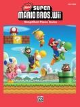 New Super Mario Bros. Wii Desert Theme - Easy Piano