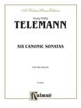 Telemann: Six Canonic Sonatas - String Ensemble