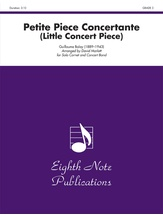 Petite Piece Concertante (Little Concert Piece) (Solo Cornet and Concert Band) - Concert Band