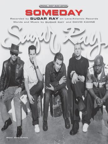 Someday Sugar Ray Pianovocalchords Sheet Music