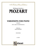 Mozart: Variations, Complete - Piano