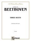 Beethoven: Three Duets for Violin and Cello - String Ensemble