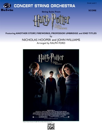 Harry Potter and the Order of the Phoenix, String Suite from - String Orchestra