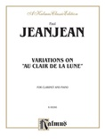 "Jeanjean: Variations on ""Au Clair de la Lune"" - Woodwinds"
