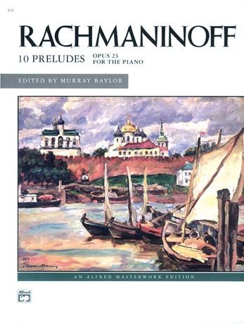 Rachmaninoff: Preludes, Opus 23 - Piano
