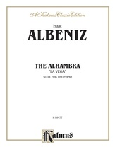 Albéniz: The Alhambra - Piano