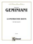 Geminiani: Twelve Instructive Duets - String Ensemble