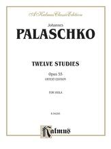 Palaschko: Twelve Studies, Op. 55 - String Instruments