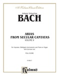 Bach: Soprano Arias from Secular Cantatas, Volume II (German) - Voice