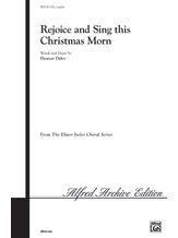 Rejoice and Sing This Christmas Morn - Choral