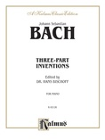 Bach: Three-Part Inventions (Ed. Hans Bischoff) - Piano